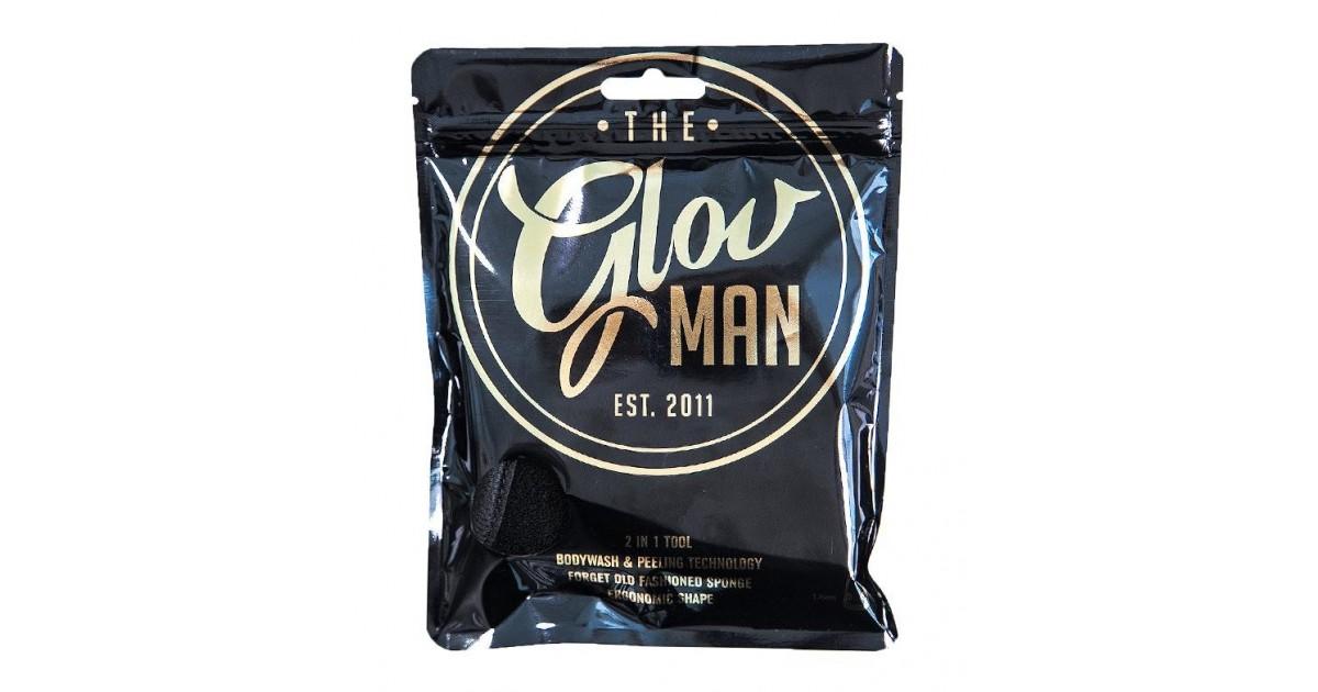 GLOV - Guante 2 en 1 Esponja de Ducha y Peeling para Hombre