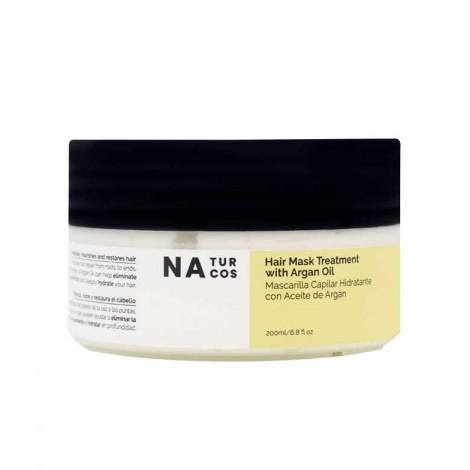 Naturcos - Mascarilla Capilar Hidratante con Aceite de Argán - 200ml