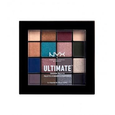 BLOG Nyx Professional Makeup - Paleta de sombras Ultimate - USP10: Ash