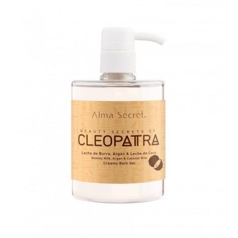 Alma Secret - Gel de Baño Cremoso con Leche de Burra, Argán & Coco - Cleopatra