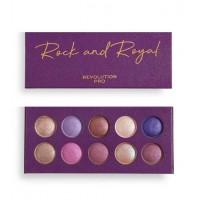 Revolution Pro - Paleta de sombras Colour Focus - Rock & Royal