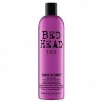 TIGI - BED HEAD DUMB BLONDE reconstructor para cabello rubio o claro 750 ml