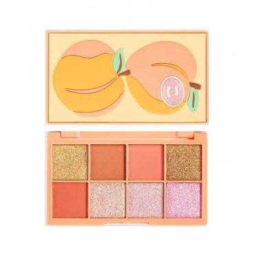 I Heart Revolution - Paleta de sombras Mini Tasty Peach - Small But Sweet
