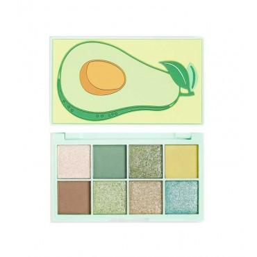 I Heart Revolution - Paleta de sombras Mini Tasty Avocado - Super Soft Goodness