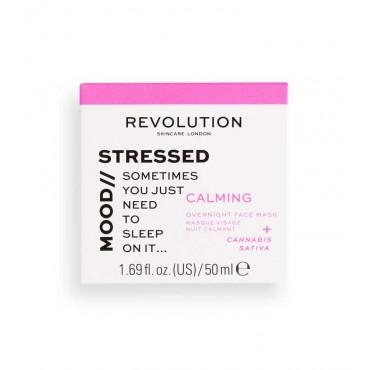 Revolution Skincare - Stressed Mood Calming - Mascarilla facial de noche calmante