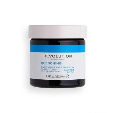 Revolution Skincare - Thirsty Mood Quenching - Mascarilla facial de noche hidratante