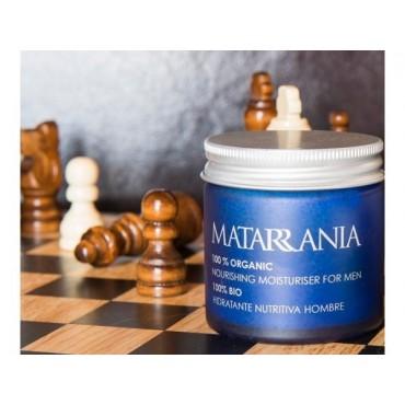 Matarrania - 100% Bio - Crema Hidratante Nutritiva Hombre