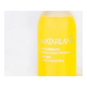Matarrania - 100% Bio - Aceite Hidratante Corporal Anti-Estrias