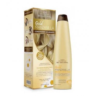 Be Natural - Gold Manzanilla - Acondicionador Aclarante Cabellos Rubios