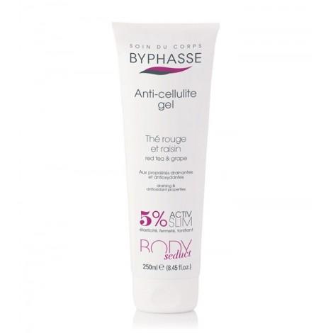 Byphasse - Gel Anticelulitico Te Rojo y Uva 250ml