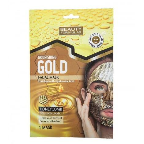 Beauty Formulas - Mascarilla Facial Nutritiva - Gold