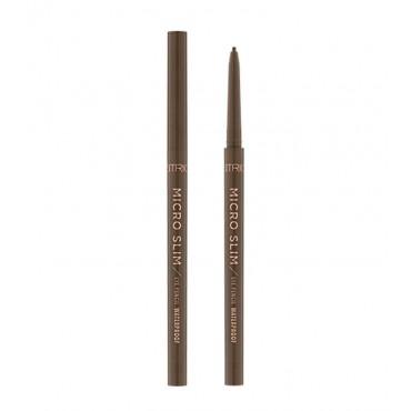 Catrice - Delineador de Ojos waterproof Micro Slim - 030: Brown precision