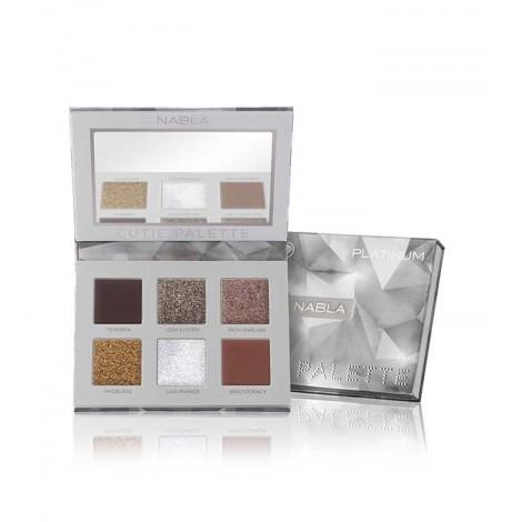 Nabla - *Cutie Collection* - Paleta de sombras de ojos Cutie Palette - Platinum