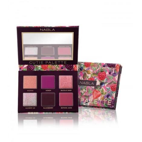 Nabla - *Cutie Collection* - Paleta de sombras de ojos Cutie Palette - WildBerry