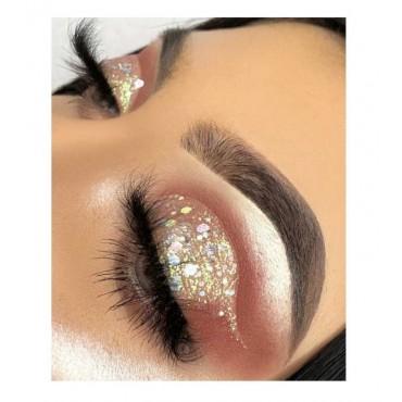 With Love Cosmetics - Glitter prensado - White Crushed Diamonds
