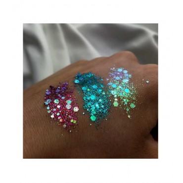 With Love Cosmetics - Glitter prensado - Purple Crushed Diamonds
