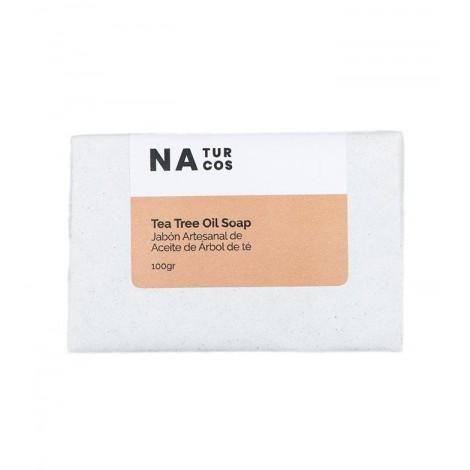 Naturcos - Jabón Artesanal de Aceite Árbol de Té - 100gr