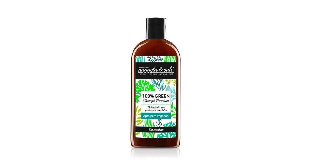 Nuggela & Sule - 100% Green - Champú apto para veganos - 100ml