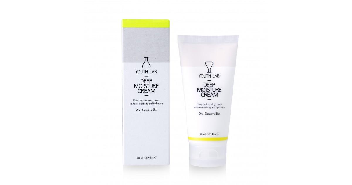 Youth Lab - Crema hidratante de día Deep Moisture Cream - Pieles sensibles