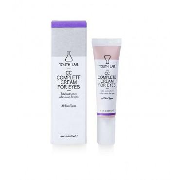 Youth Lab - CC Complete Cream para ojos - Todo tipo de pieles