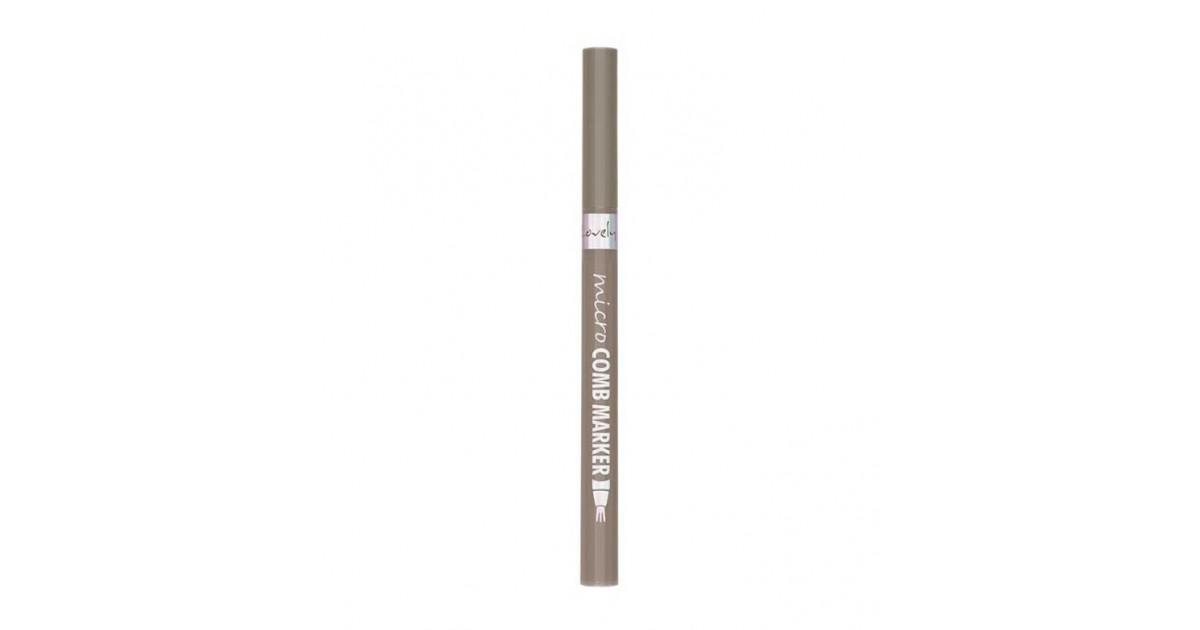 Lovely - Lápiz de cejas Micro Comb Marker - 1