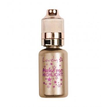 Lovely - Iluminador líquido Make Me Highlight - 02
