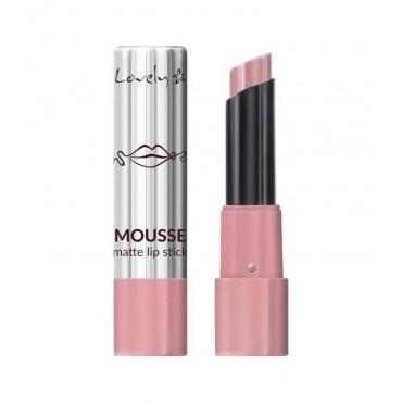 Lovely - Barra de Labios Mousse Matte Lipstick - 1