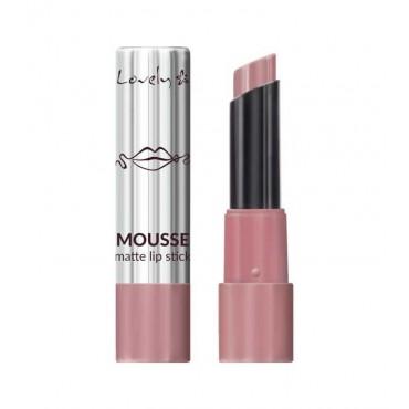 Lovely - Barra de Labios Mousse Matte Lipstick - 3