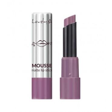 Lovely - Barra de Labios Mousse Matte Lipstick - 4
