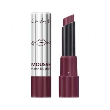 Lovely - Barra de Labios Mousse Matte Lipstick - 5