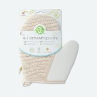 So Eco - Guante exfoliante 2 en 1 ecológico