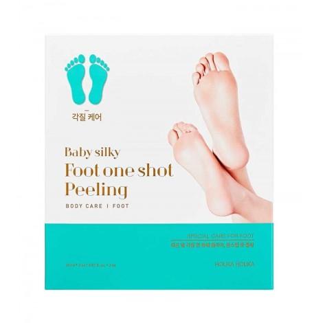 Holika Holika - Mascarilla peeling para pies Baby silky foot