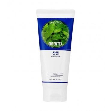 Holika Holika - Espuma limpiadora refrescante - Té Verde