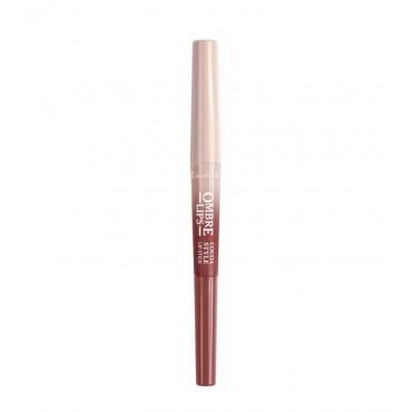 Lovely - Perfilador de labios + labial Ombre Lips - 3: Cocoa Style