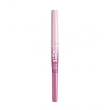 Lovely - Perfilador de labios + labial Ombre Lips - 4: Ruby Hue