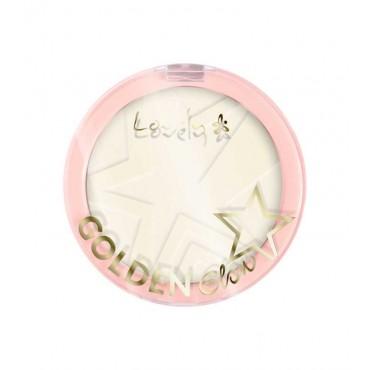 Lovely - Polvos compactos Golden Glow - 1: Banana