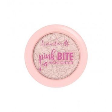Lovely - Iluminador en polvo Pink Bite