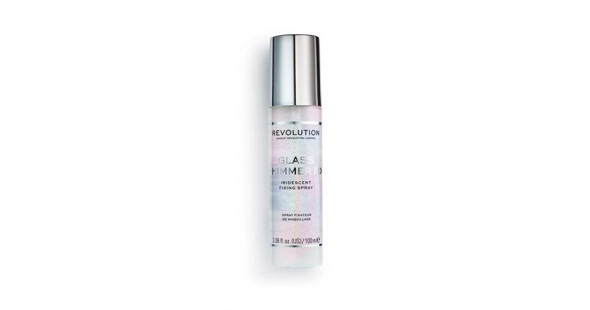 Revolution - *Glass Collection* - Spray fijador de maquillaje Glass Shimmer Fix