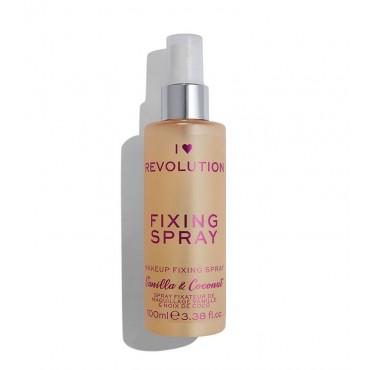 I Heart Revolution - Spray Fijador de Maquillaje - Vainilla y coco