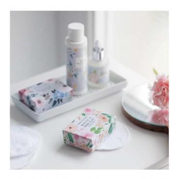 Vera And The Birds - Jabón facial sólido White and Pink Clay
