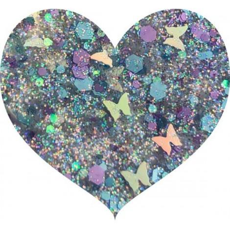 With Love Cosmetics - Glitter prensado - Limited Edition - Mariposa