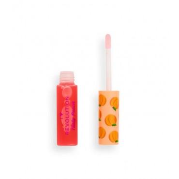 I Heart Revolution - Aceite para labios Tasty Peach - Peach Juice