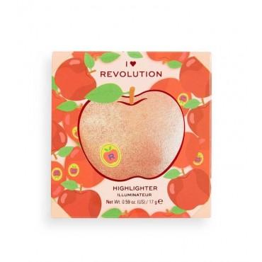 I Heart Revolution - Iluminador en polvo Tasty 3D - Strawberry