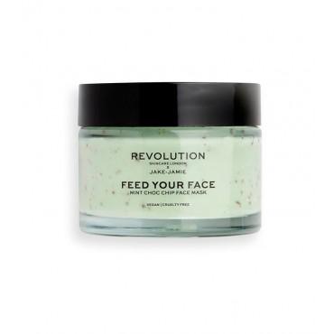 Revolution Skincare - Mascarilla Hidratante x Jake-Jamie Feed your face - Menta y chocolate