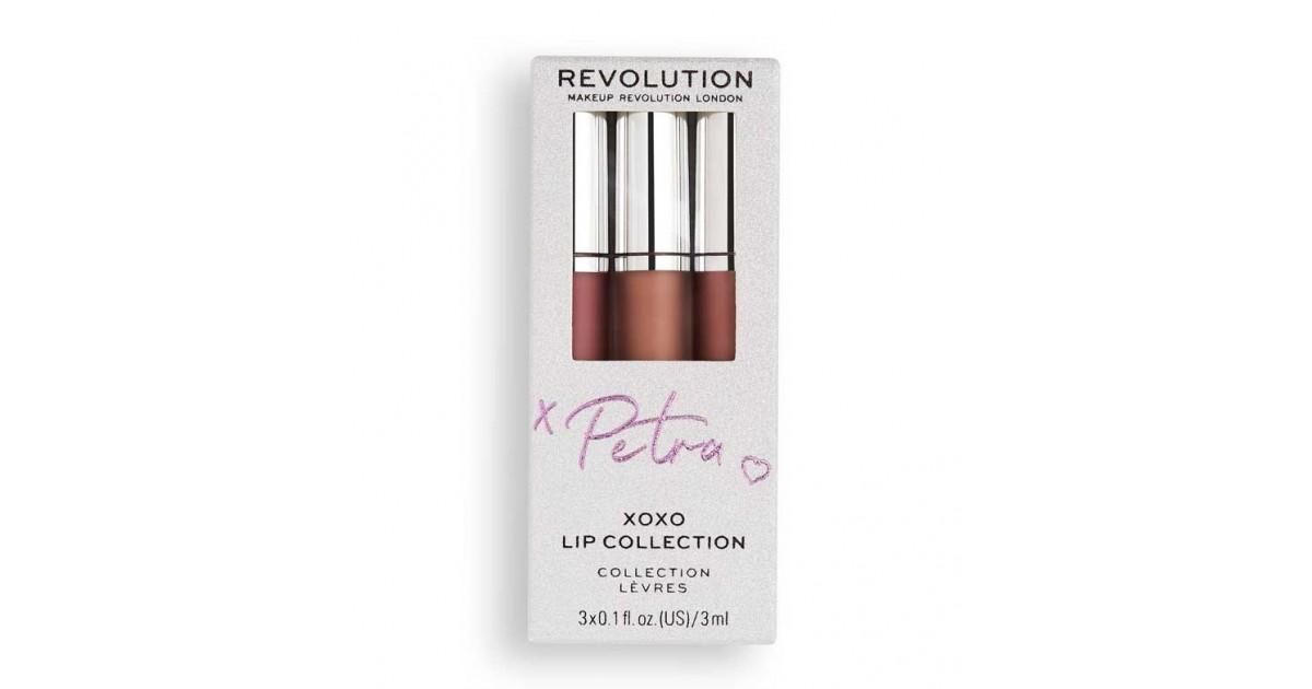 Revolution - Set de labiales líquidos X Petra XOXO