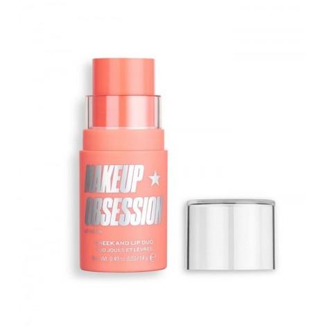 Makeup Obsession - Tinte para labios y mejillas en stick - No.1 Crush