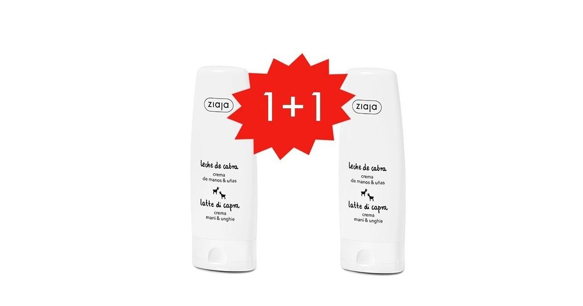 Ziaja - Set Leche de Cabra crema de manos + crema de manos gratis