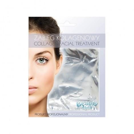 Beauty Face - Mascarilla de colágeno alisadora - Perla Natural