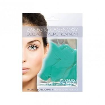 Beauty Face - Mascarilla de colágeno antioxidante - Té Verde y Vitaminas