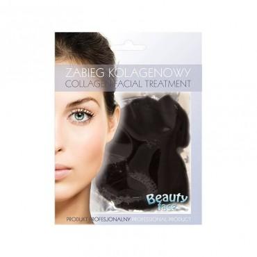 Beauty Face - Mascarilla de colágeno limpiadora y anti acné - Arcilla Negra del Mar Muerto